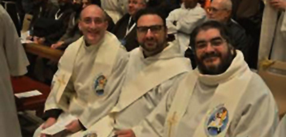 I Frati Cappuccini concelebrano la Messa con Papa Francesco – 9/2/2016