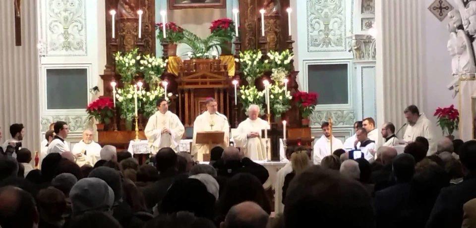 Il neo arcivescovo di Palermo per San Bernardo da Corleone