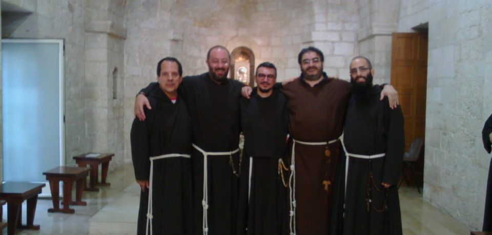 Ingresso al Noviziato di fr. Salvatore Giliberto