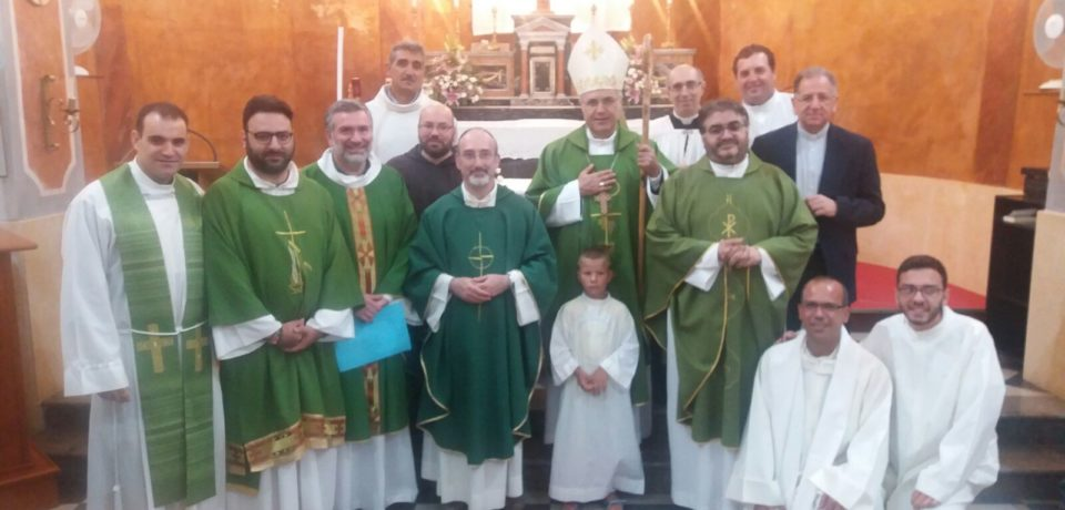 Mons. Corrado Lorefice in visita Pastorale a Regalgioffoli