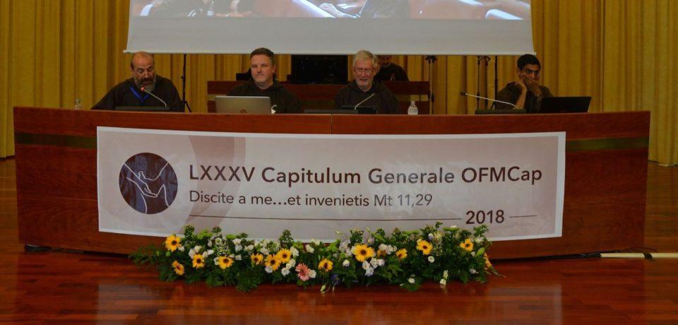 85° Capitolo Generale dei Cappuccini -Relazione del Ministro Generale