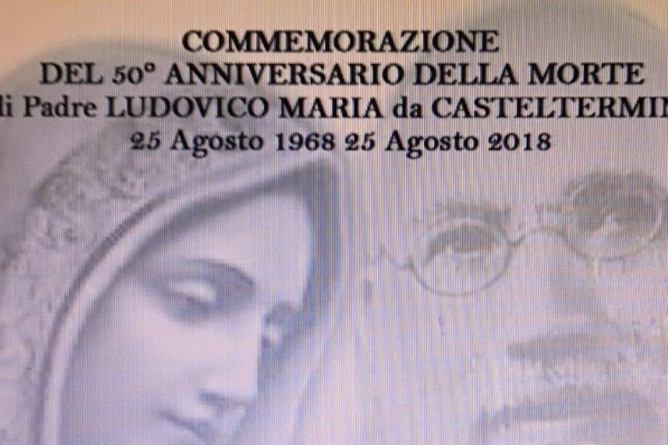 Sciacca – Commemorazione del 50° dalla morte di p. Ludovico da Casteltermini