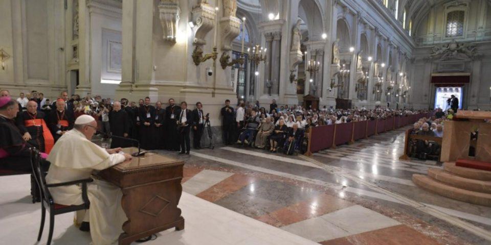 DISCORSO DEL SANTO PADRE FRANCESCO AL CLERO, I RELIGIOSI E I SEMINARISTI – PALERMO 15/09/18