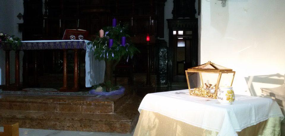 Il Cuore del Beato Giacomo Cusmano nel convento di Caccamo