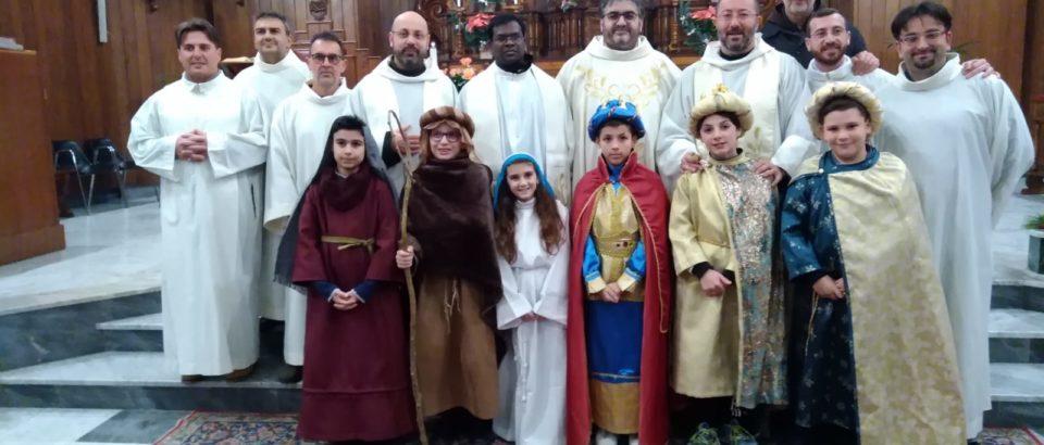 Accoglienza di fr. Antony a Sciacca