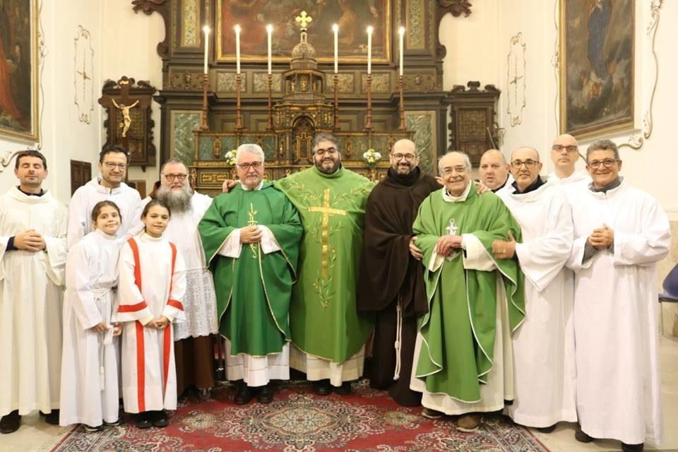 Castelvetrano – Celebrazione di Benvenuto a fr. Giovanni Spagnolo