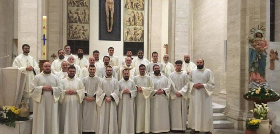 Visita dei Ministri CIFIS alla fraternità dello Studentato Teologico