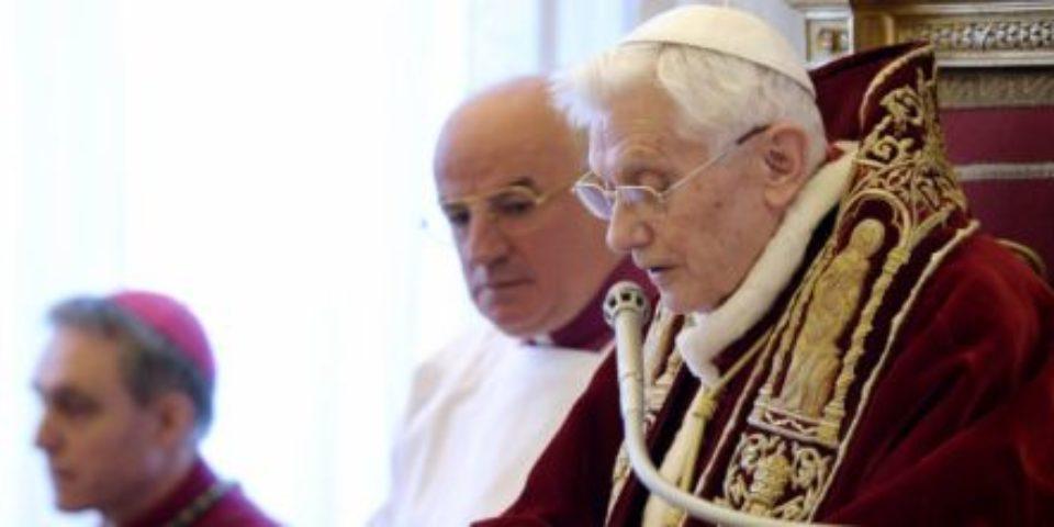 Benedetto XVI, Principi non negoziabili e impegno politico dei Cristiani