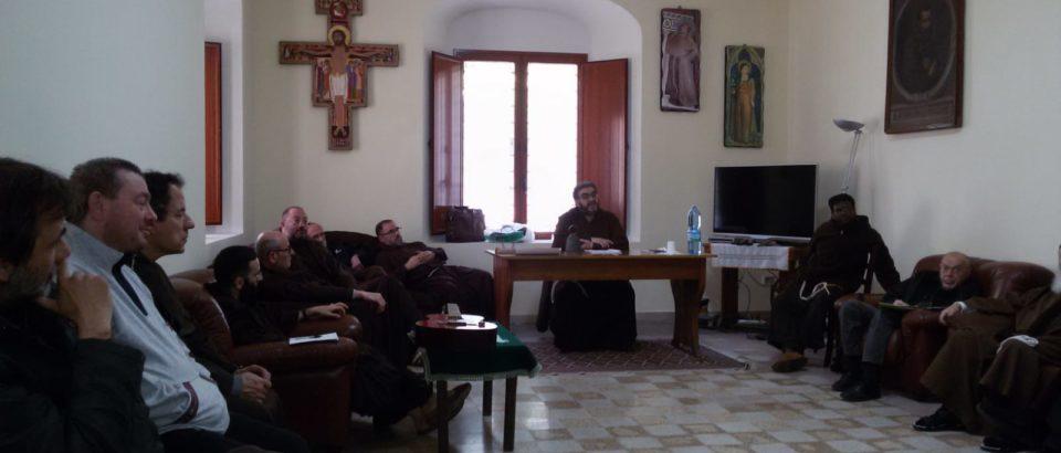Giornata Provinciale di fraternità nel nostro Convento di Sciacca