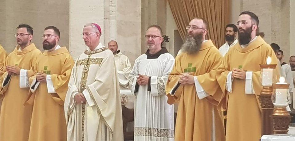 Fr. Augusto Magno e fr. Luigi Librera sono Diaconi