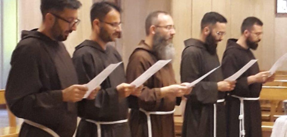 Professione di fede dei neo eletti al diaconato