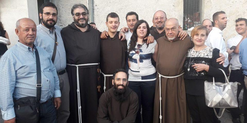Prima professione di fr. Fabio Giuseppe Catania