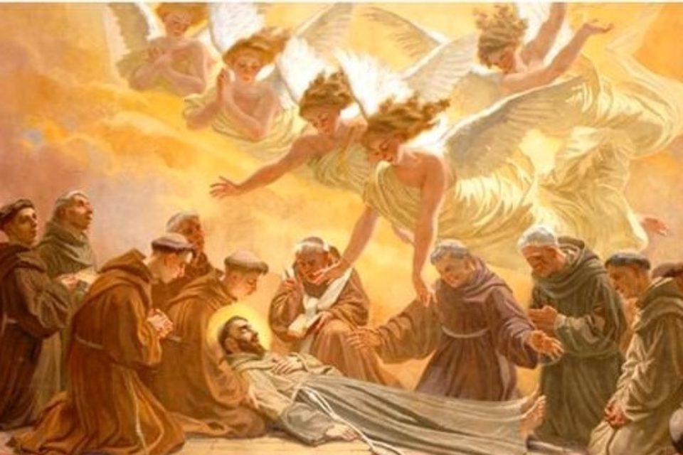 Fr. Giovanni Spagnolo predica S. Francesco alle Suore dell'Immacolata di Lourdes