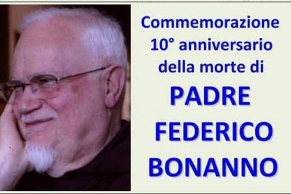 A dieci anni dal suo ingresso nell'Eternità, Castronovo ricorda p. Federico Bonanno
