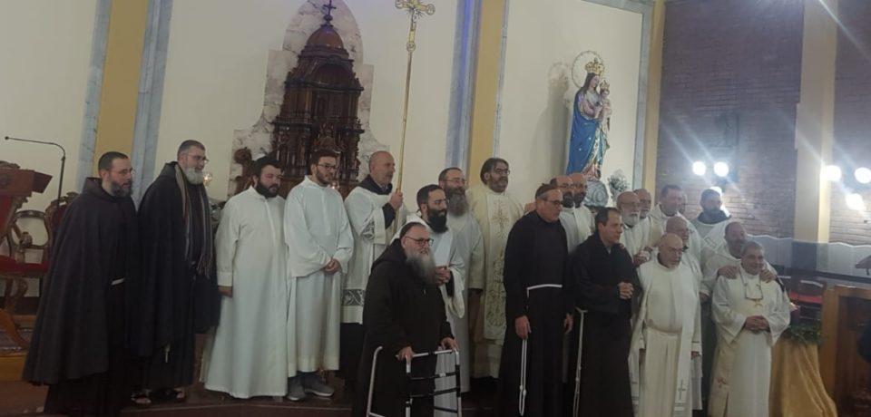 Festeggiamenti per il XXV anniversario di professione di fr. Mario Parrinello e fr. Giovanni Augello