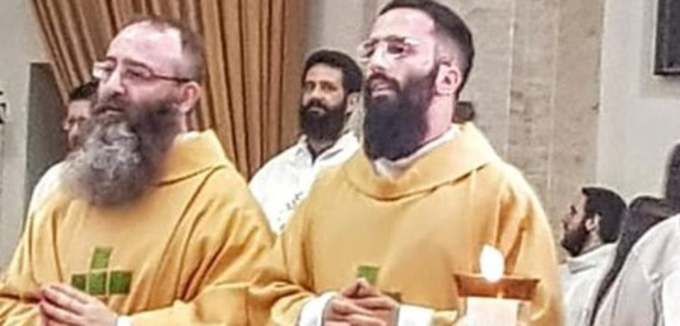 Prossime ordinazioni Presbiterali: fr. Augusto e fr. Luigi