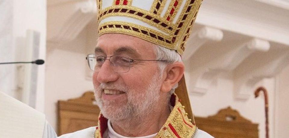 Mons. Calogero Peri, Vescovo di Caltagirone, ricoverato in Ospedale.