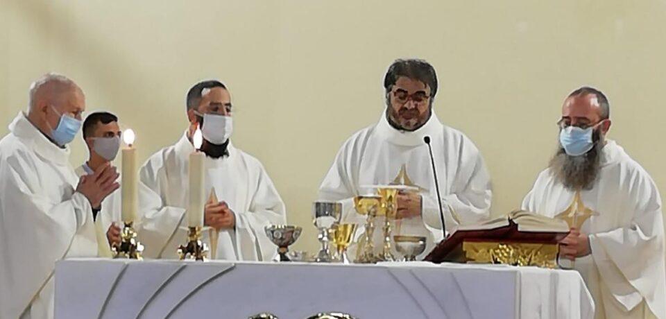 60 anni di professione di fr. Ernesto e accoglienza dei due neo presbiteri