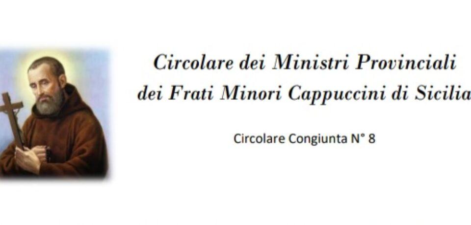 Circolare congiunta in occasione del XX anniversario della Canonizzazione di S. Bernardo da Corleone