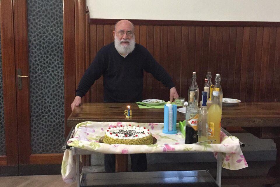 Auguri a p. Agostino, decano della Provincia