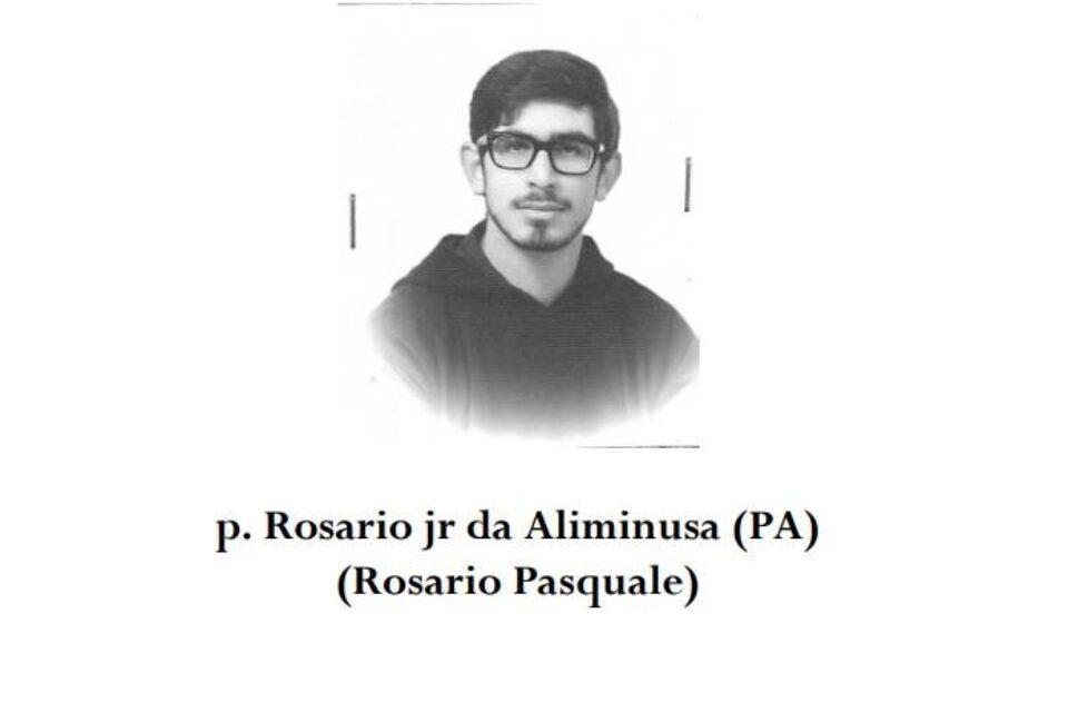 Ricordando il frate cappuccino, padre Rosario Pasquale junior
