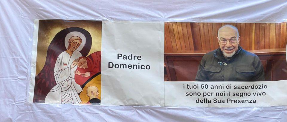 Ringraziamo il Signore per i 50 anni di presbiterato di fr. Domenico