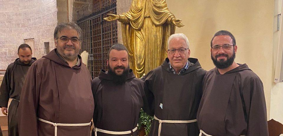 Vestizione di fr. Francesco Paolo e professione di fr. Enrico Gregorio